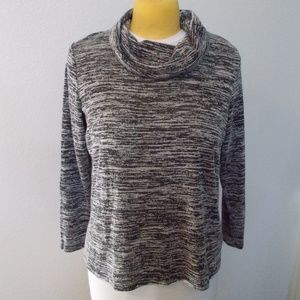 Faded Glory Cowl Neck Gray Sweater size XL